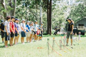 Outdoor Education at QCCC's Mountain Campus