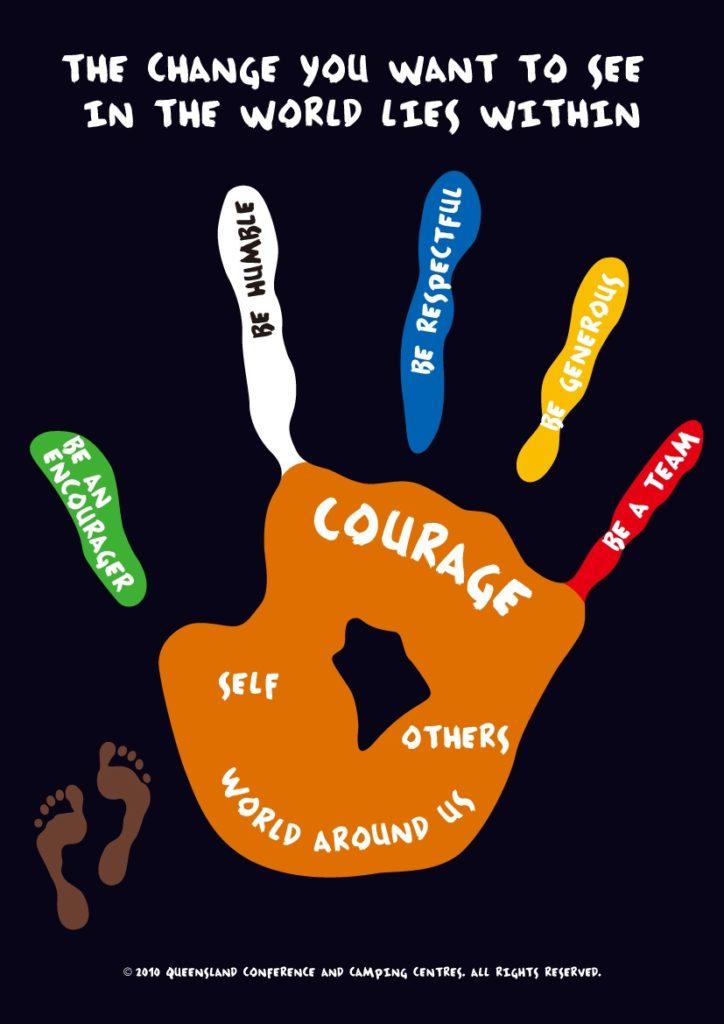 Values Based Outdoor Education Queensland, Character Development camps, School Camp Queensland